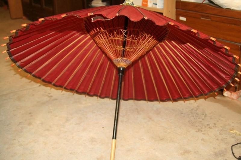 Японские зонтики своими руками 684